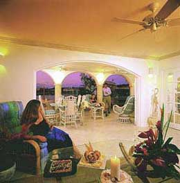 View of the Lounge at Port St. Charles, St. Peter, Barbados